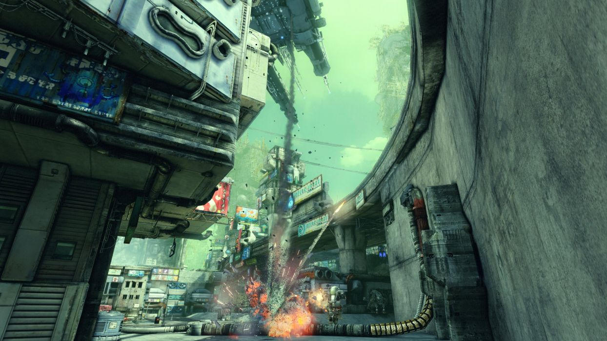 HAWKEN onlone mech mecha shooter sci-fi (35) wallpaper
