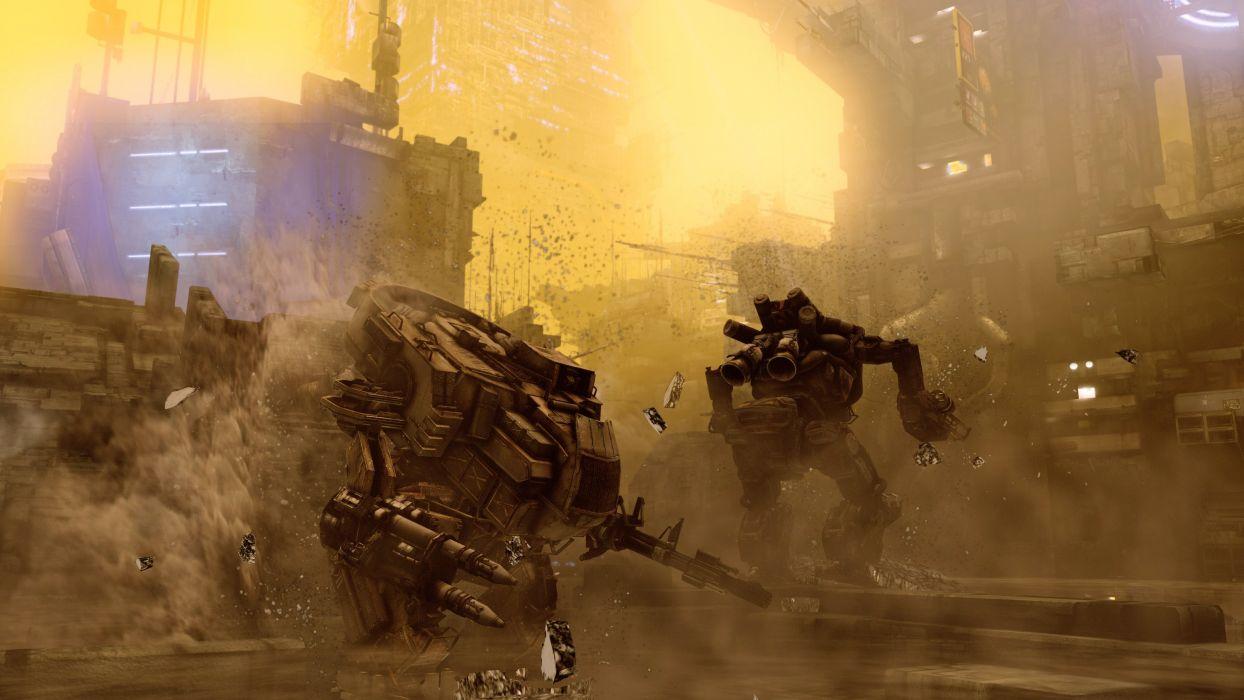 HAWKEN onlone mech mecha shooter sci-fi (43) wallpaper