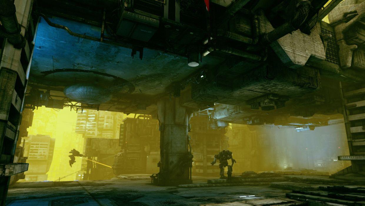 HAWKEN onlone mech mecha shooter sci-fi (46) wallpaper