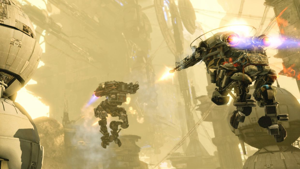 HAWKEN onlone mech mecha shooter sci-fi (48) wallpaper