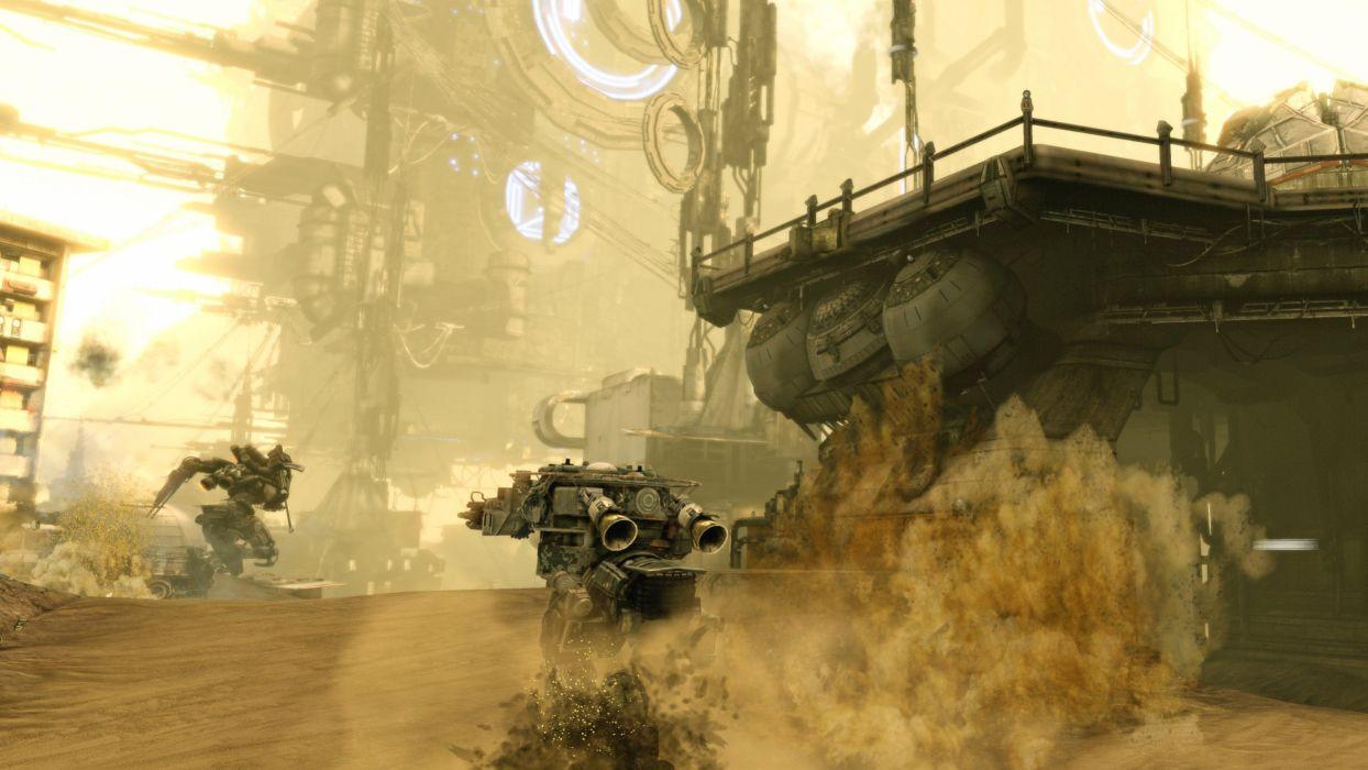 HAWKEN onlone mech mecha shooter sci-fi (47) wallpaper