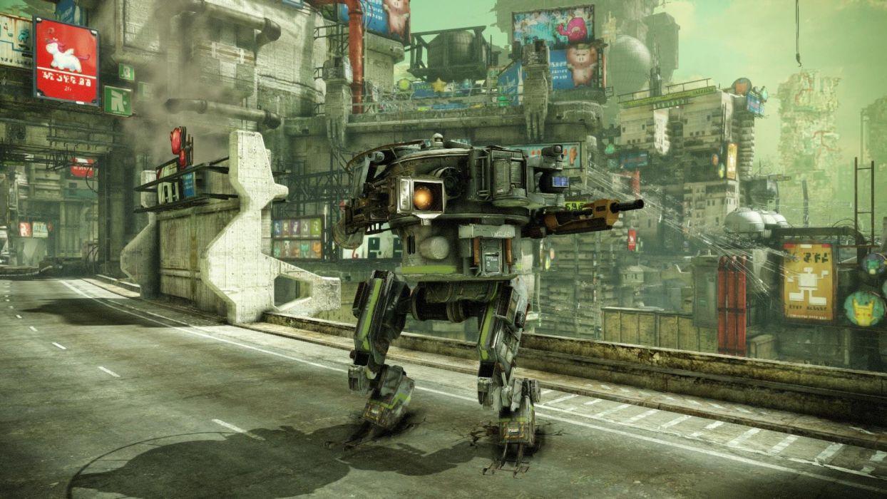 HAWKEN onlone mech mecha shooter sci-fi (61) wallpaper