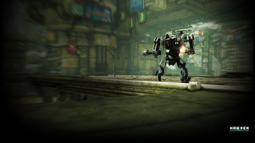 HAWKEN onlone mech mecha shooter sci-fi (62) wallpaper