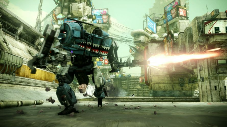 HAWKEN onlone mech mecha shooter sci-fi (64) wallpaper