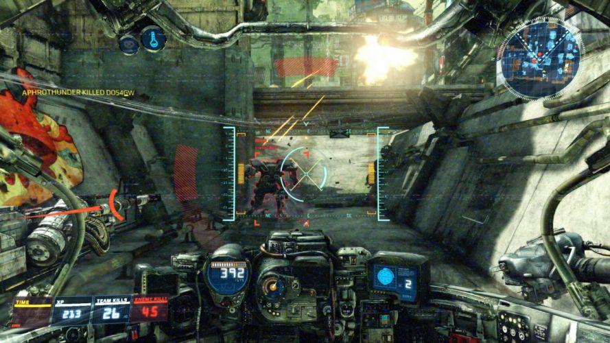 HAWKEN onlone mech mecha shooter sci-fi (82) wallpaper