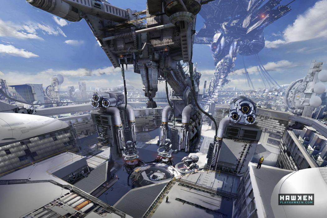 HAWKEN onlone mech mecha shooter sci-fi (85) wallpaper