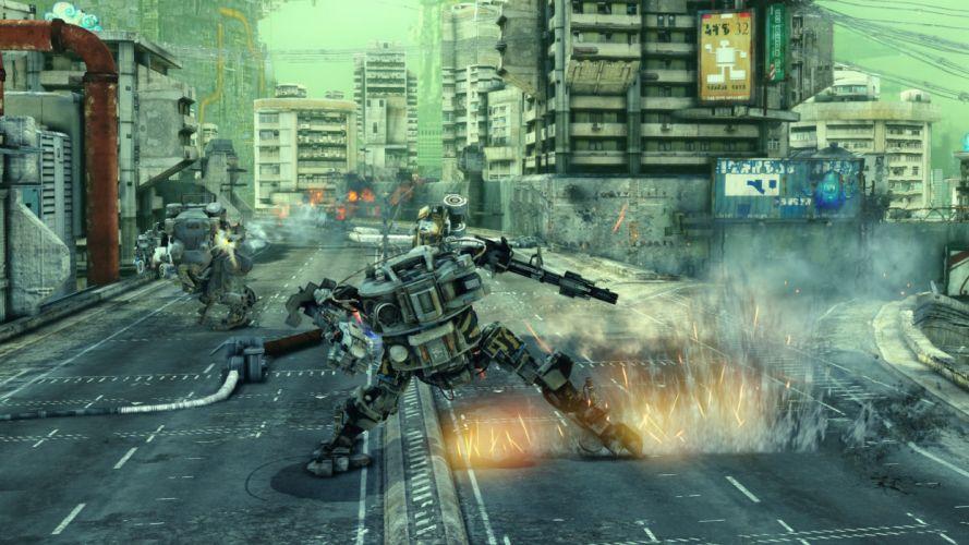 HAWKEN onlone mech mecha shooter sci-fi (88) wallpaper