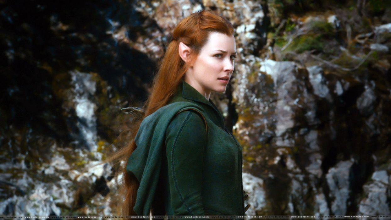 Hobbit Lord Rings Lotr Fantasy Movie Film Smog Desolation Elf H Wallpaper
