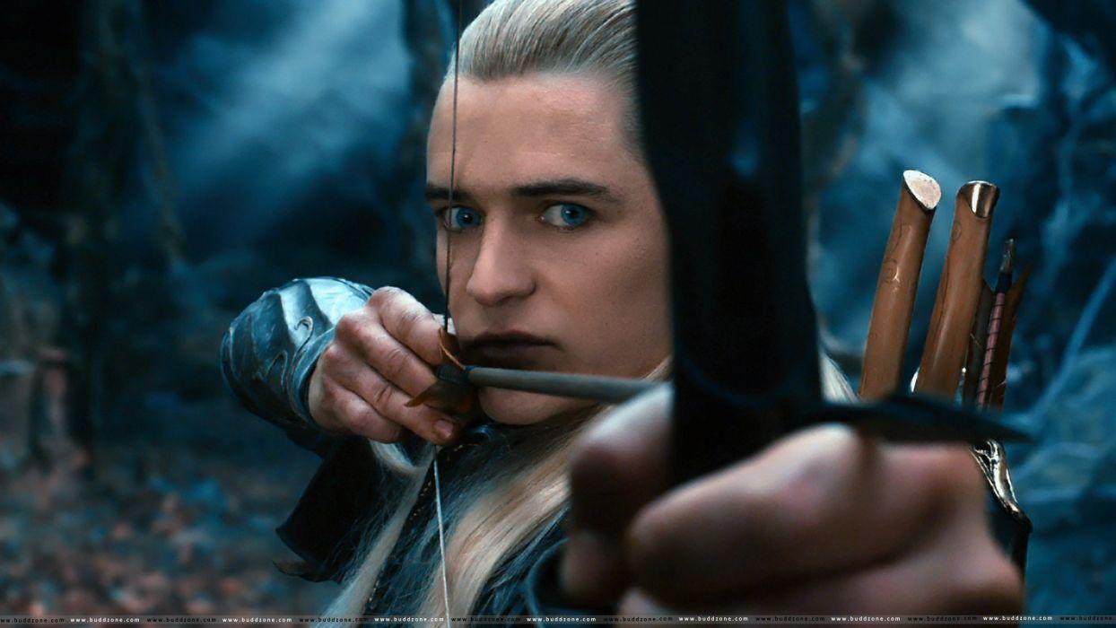 hobbit lord rings lotr fantasy movie film warrior archer wallpaper