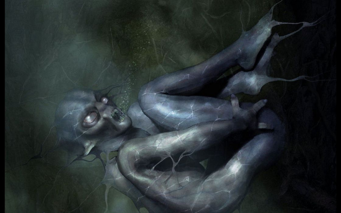 horror monster alien sci-fi creature wallpaper