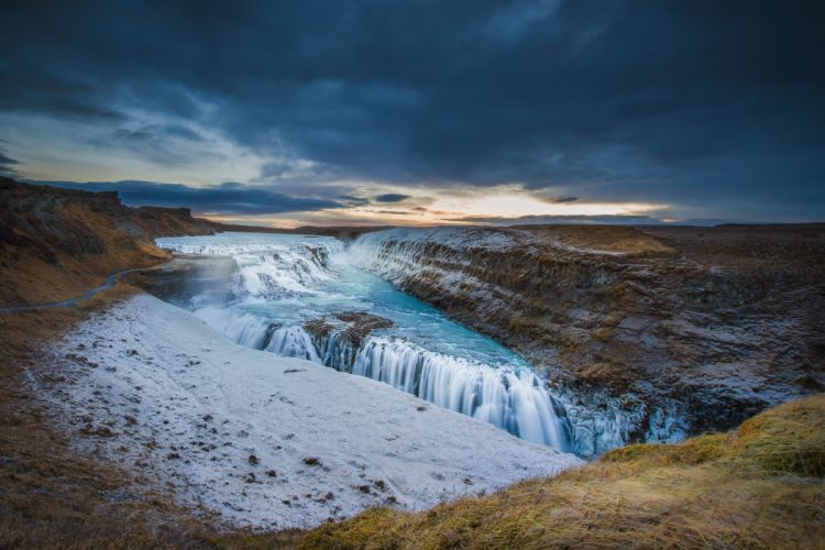 Iceland river wallpaper