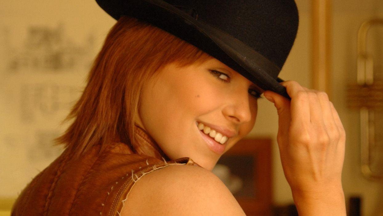 k adult Iga Wyrwal sexy babe redhead     g wallpaper