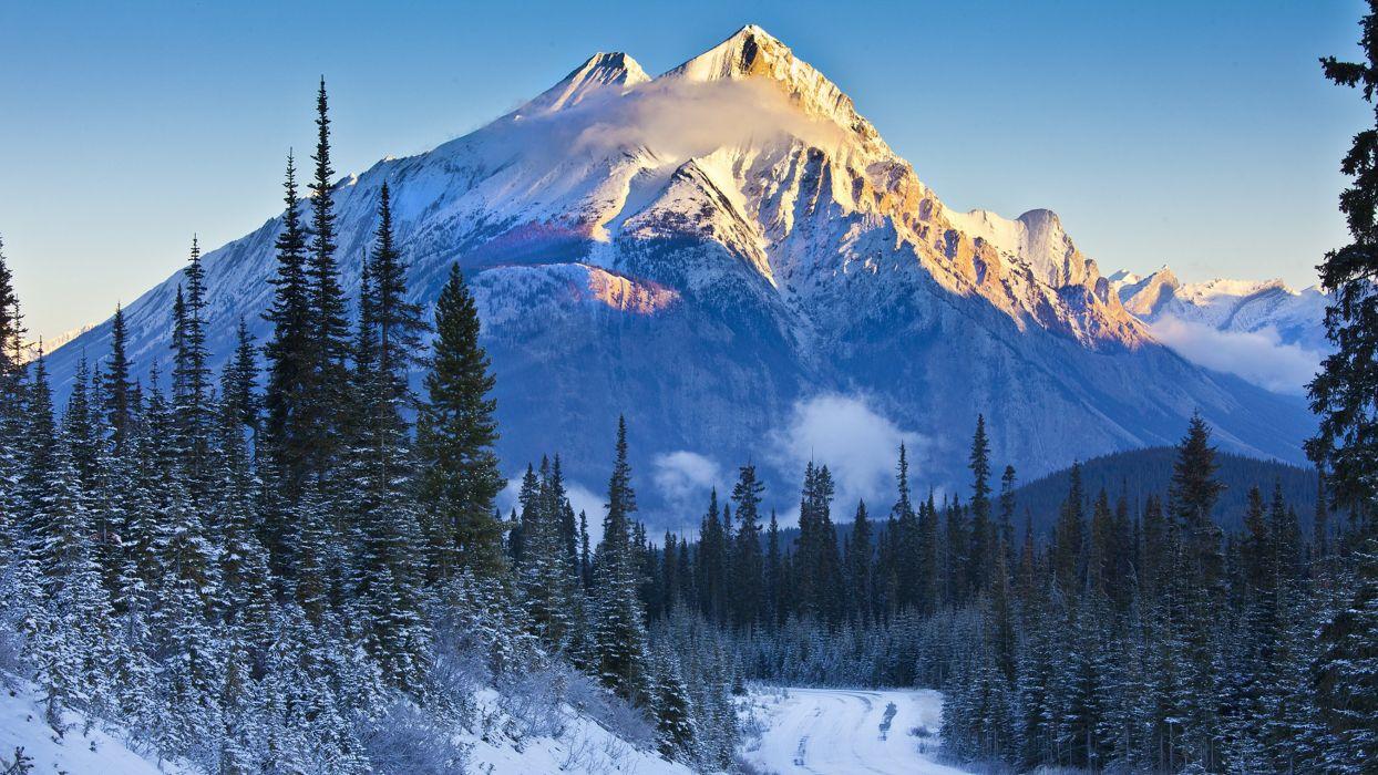 Kananaskis Alberta Banff National Park Canada wallpaper
