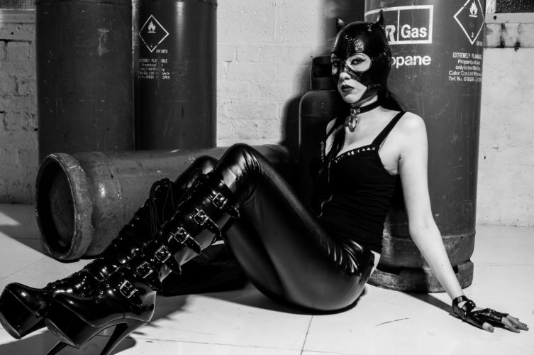 latex fetish model rubber sexy babe mask f wallpaper