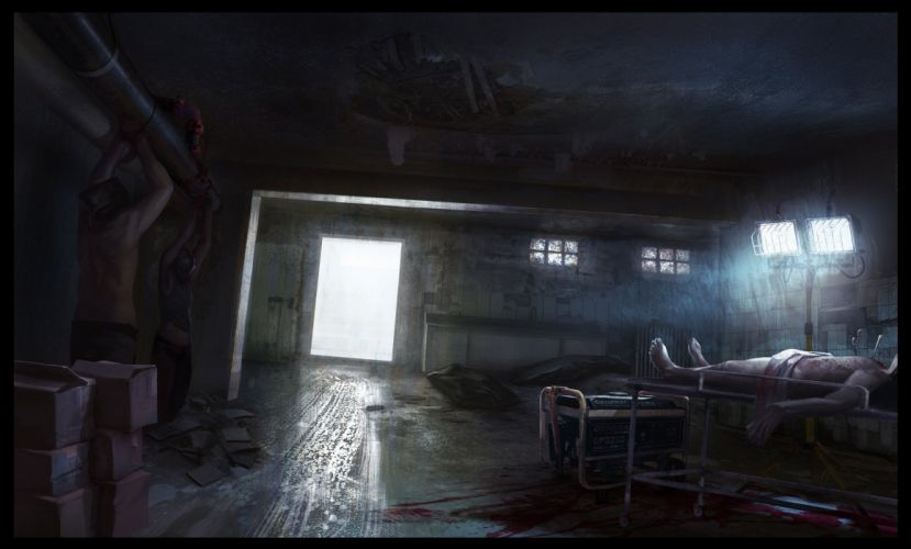 medical dark horror blood wallpaper