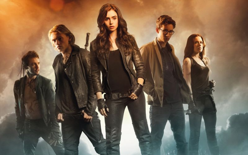 Men The Mortal Instruments City of Bones Jacket Movies Girls wallpaper