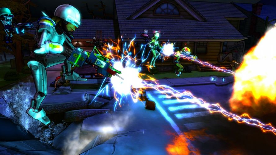 MONSTER MADNESS ONLINE mmo sci-fi shooter (5) wallpaper
