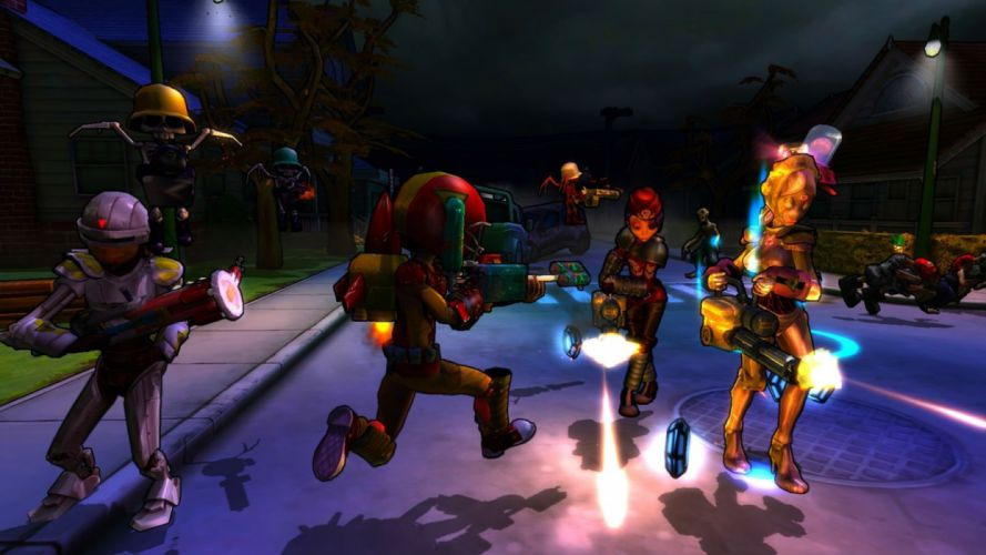 MONSTER MADNESS ONLINE mmo sci-fi shooter (8) wallpaper