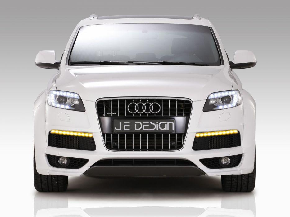 line Audi Q7 SUV JE Design German cars wallpaper