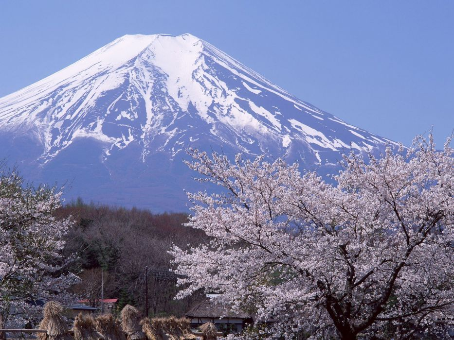 Japan mountains landscapes nature wallpaper
