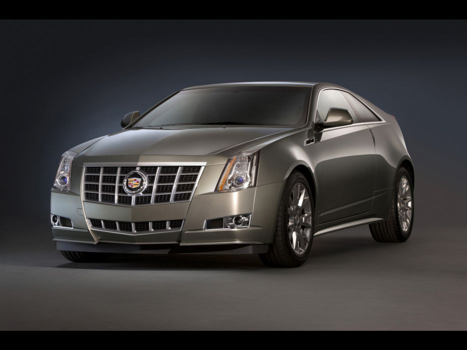 cars studio vehicles coupe Cadillac CTS wallpaper