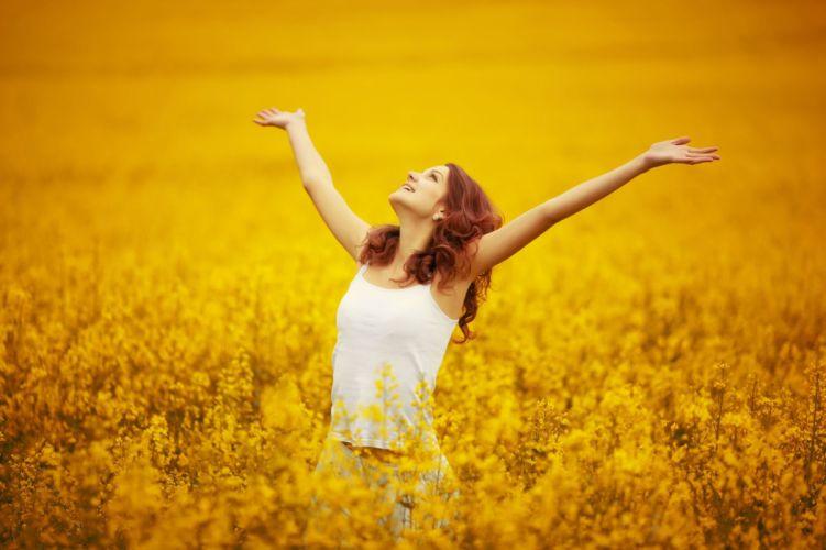 mood girl smile freedom wallpaper