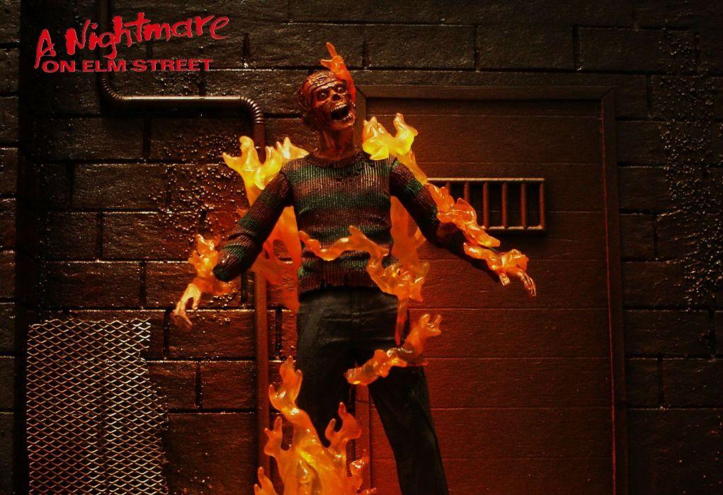 Nightmare Elm Street Halloween Dark Horror Movie Film F Wallpaper