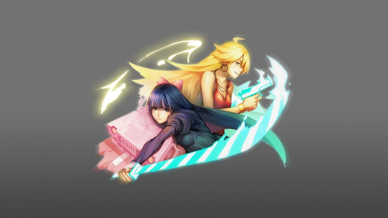 Panty and Stocking with Garterbelt    v wallpaper