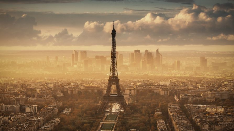 Paris France eiffel tower d wallpaper