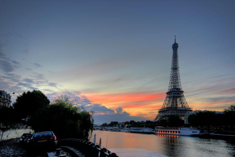 Paris France Eiffel Tower wallpaper