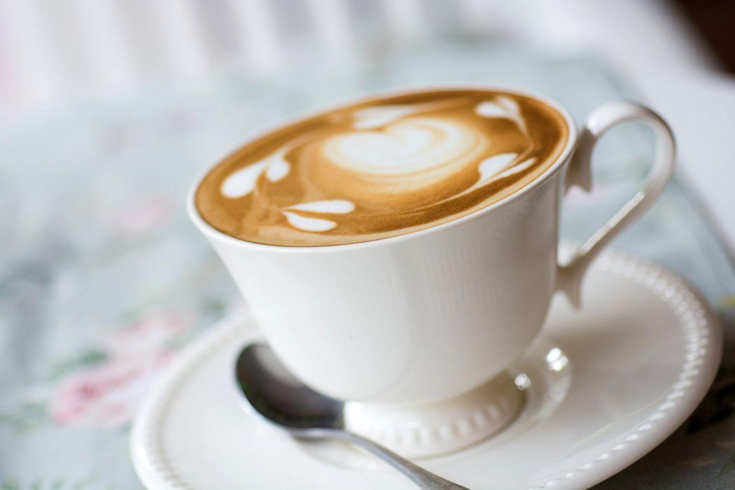 pattern coffee foam milk cappuccino wallpaper