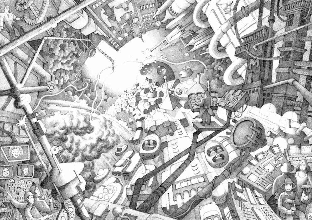 sci-fi city spaceship    g wallpaper