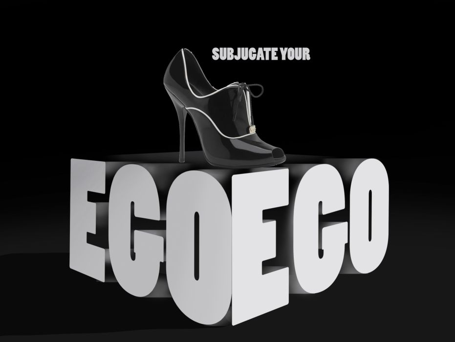 shoe fetish ego poster wallpaper