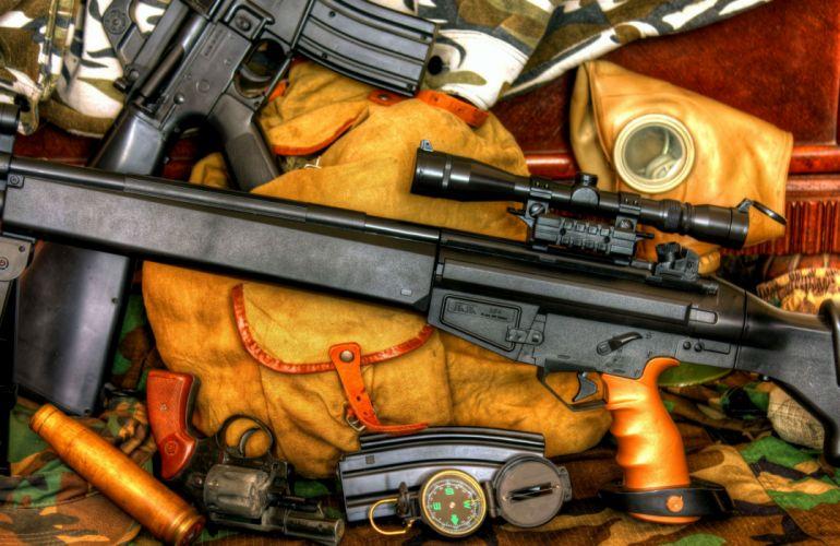 sniper rifle m16a1 k94 military police weapon gun wallpaper