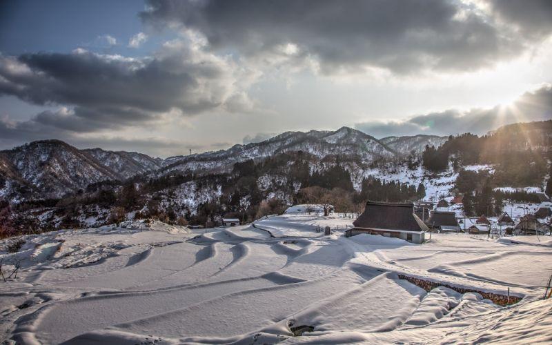 Snow Winter Landscape wallpaper