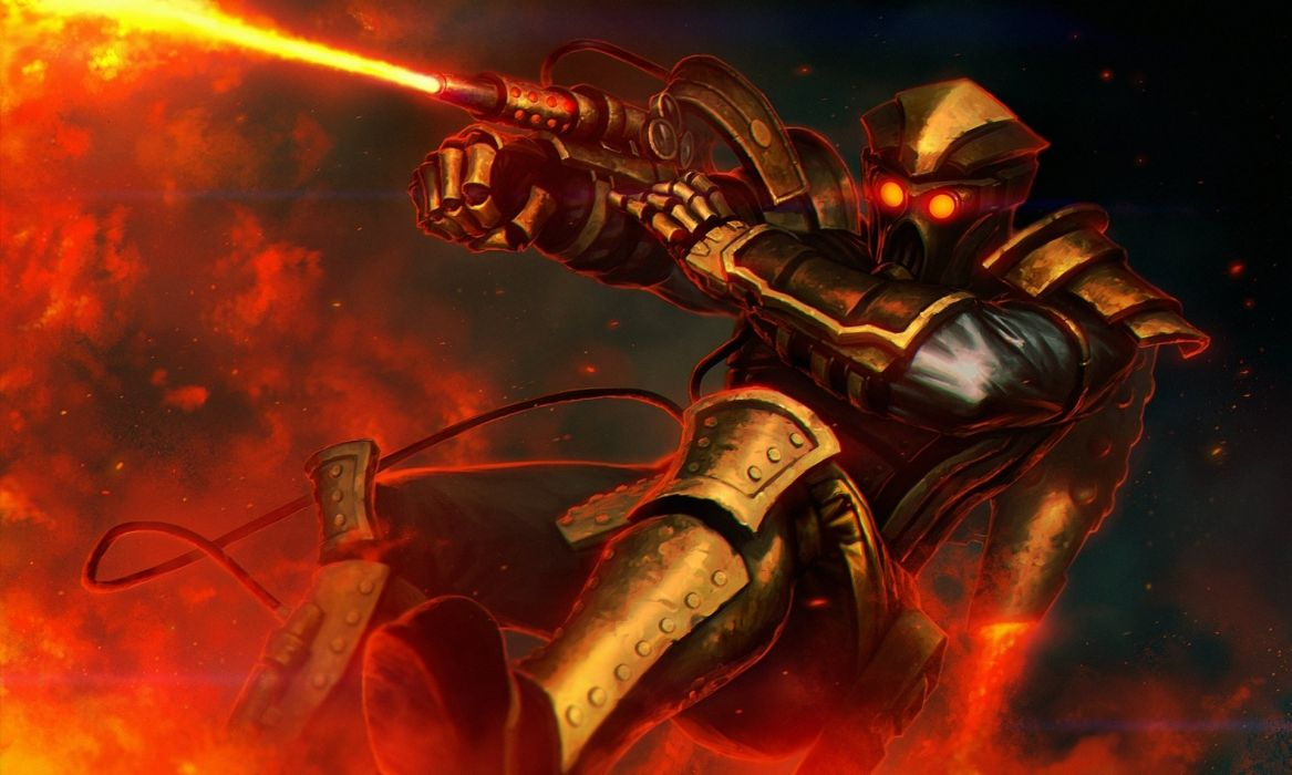 Technics Battle Warrior Armor Fantasy wallpaper