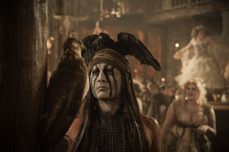 The Lone Ranger (2013 film) Johnny Depp Men Indians Movies Celebrities wallpaper