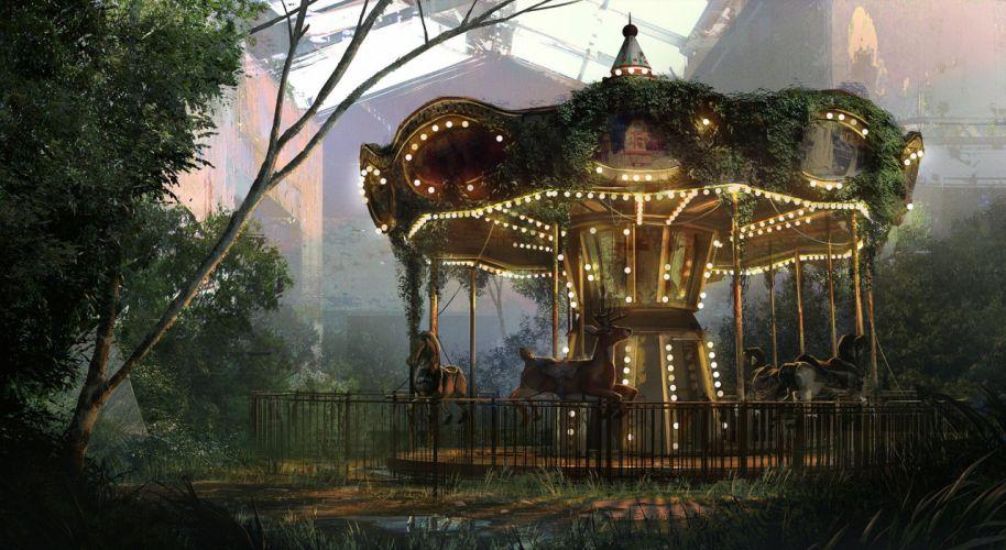 The Last of Us Games Fantasy d wallpaper