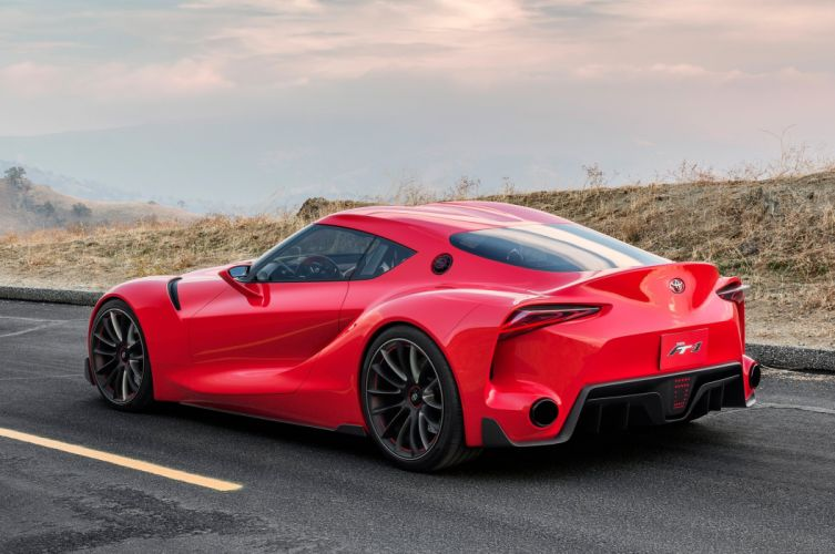 toyota ft-1 concept supercar wallpaper