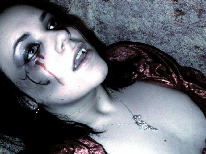 vampire goth gothic loli blood dark wallpaper