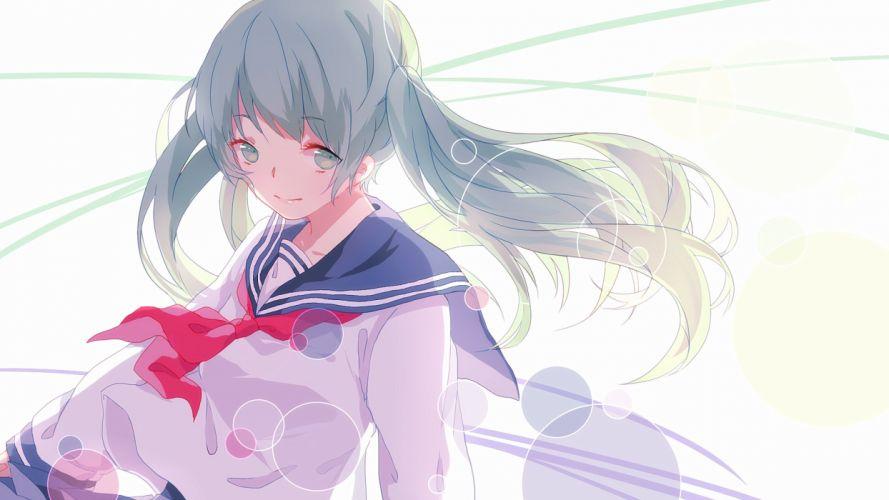 Vocaloid Schoolgirls Anime Girls f wallpaper