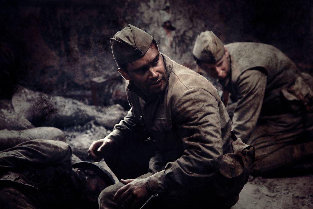 War Men Stalingrad 2013 Movies military soldier wallpaper