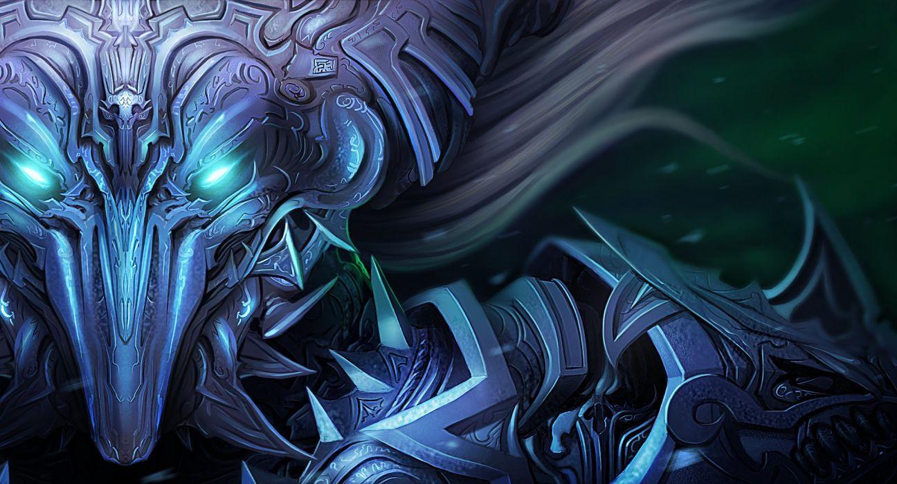 Warrior Monster Glance Armor Fantasy wallpaper