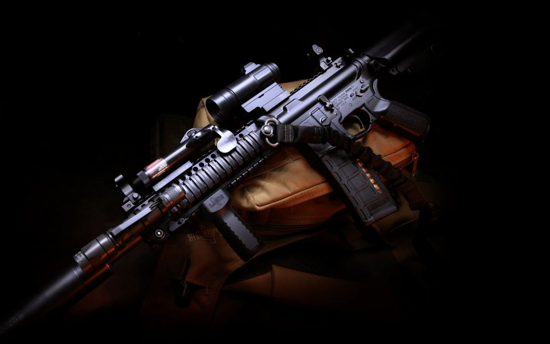 weapon m4 assault carbine gun assault rifle military police wallpaper