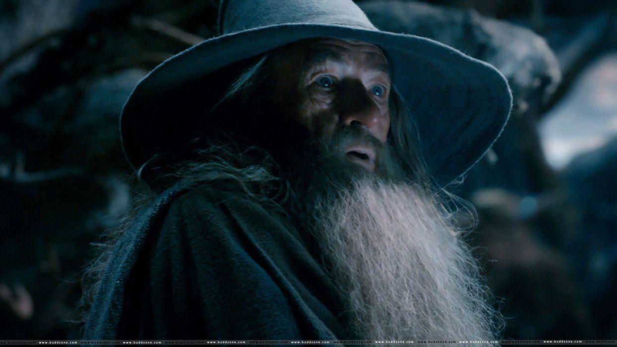 wizard hobbit lord rings lotr fantasy movie film smog desolation wallpaper