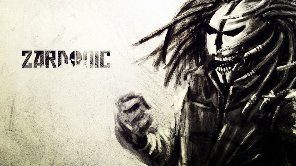 Zardonic d-j electronic bass electro nask dark skull music wallpaper