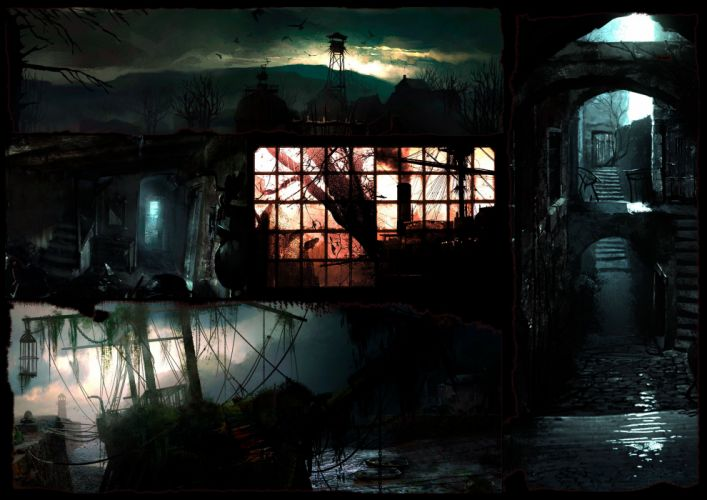 THE EVIL WITHIN survival horror dark hd wallpaper