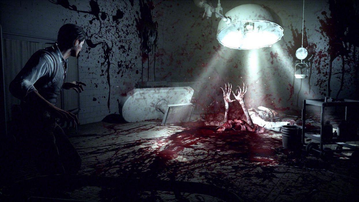 THE EVIL WITHIN survival horror dark blood          g wallpaper