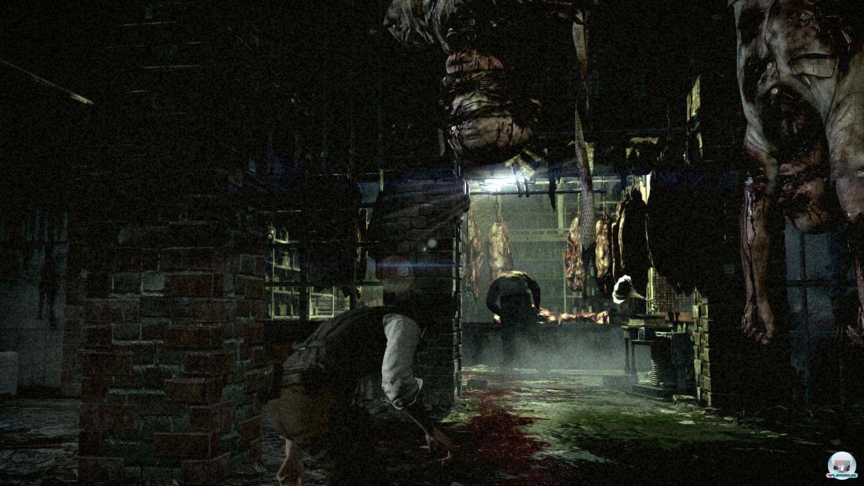 THE EVIL WITHIN survival horror dark blood     hf wallpaper
