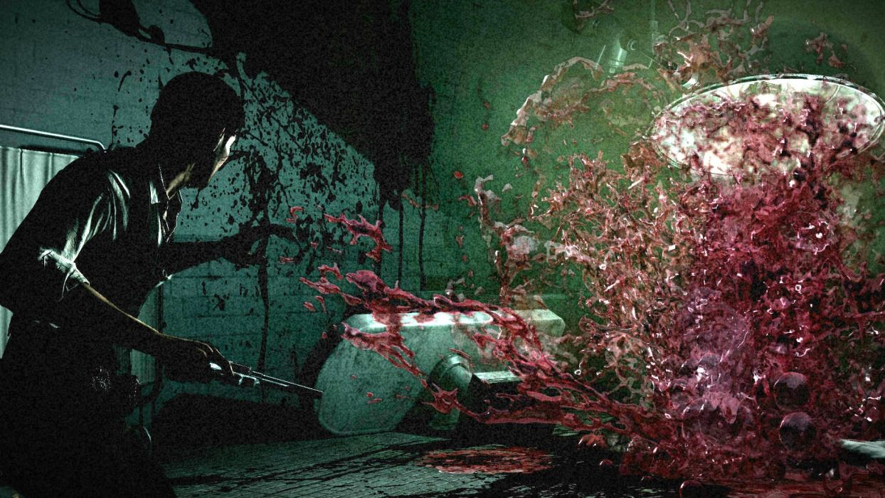 THE EVIL WITHIN survival horror dark blood     bc wallpaper